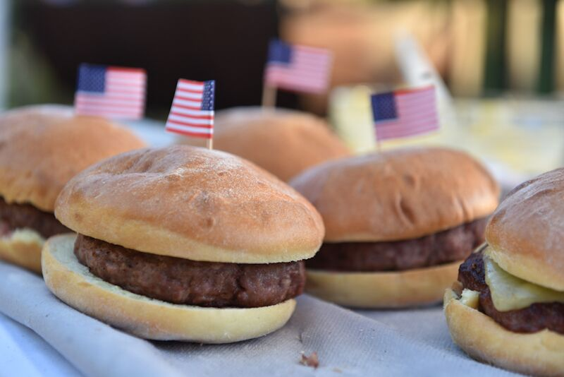 Burgers 4th Of July